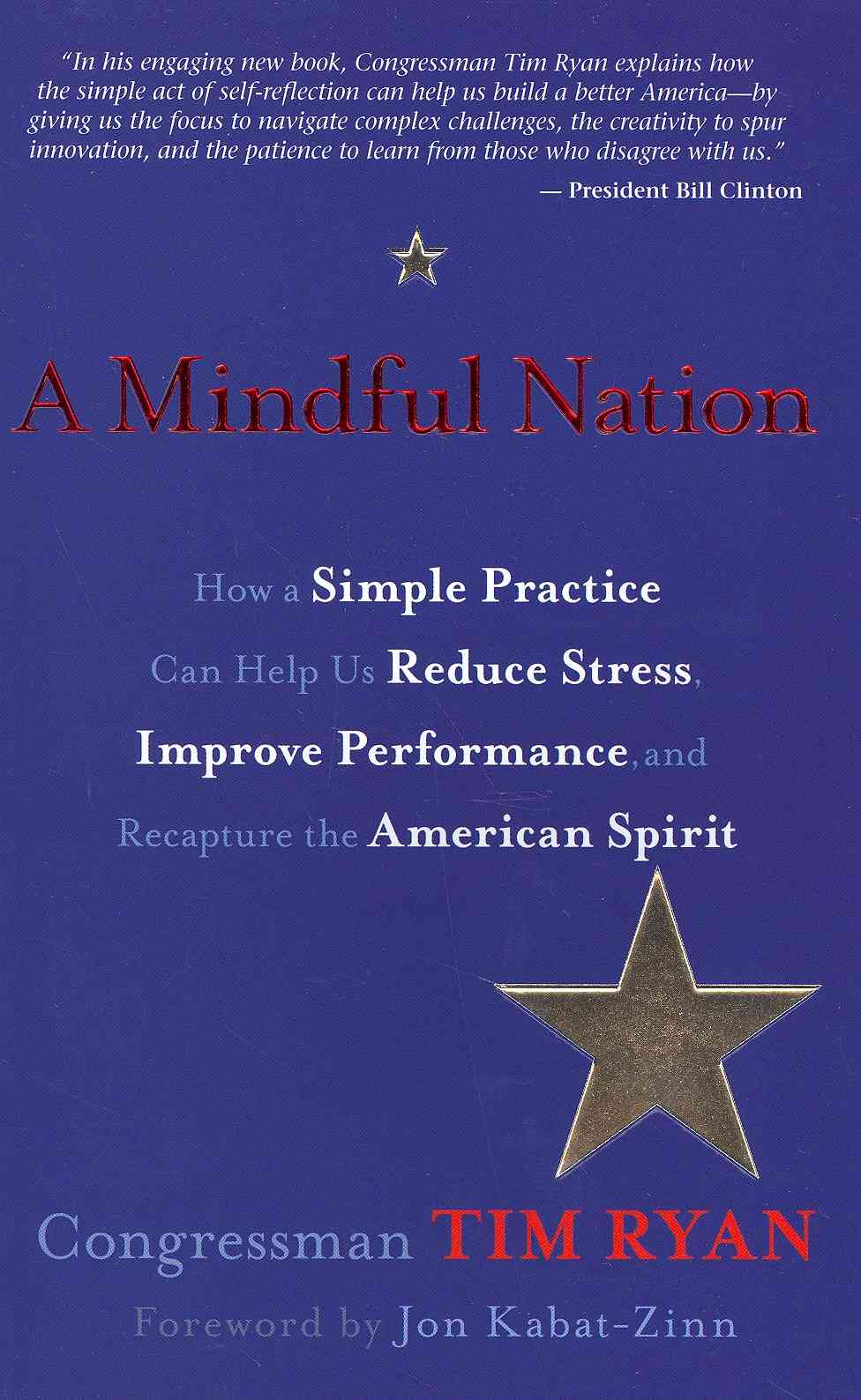 A Mindful Nation By Ryan, Tim